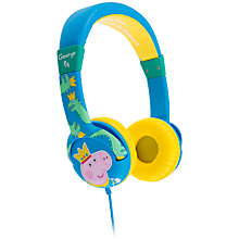 Buy Kondor Peppa Pig Prince George On-Ear Headphones Online at johnlewis.com