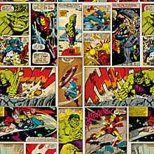 Buy Marvel Gift Roll Wrap, 150cm Online at johnlewis.com