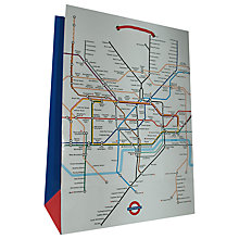 Buy Rachel Ellen London Underground Gift Bag, Medium Online at johnlewis.com