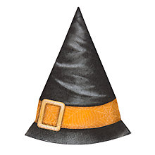 Buy Ginger Ray Halloween Witches Hat Napkins, Pack of 12 Online at johnlewis.com