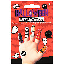 Buy NPW Halloween Finger Tattoos Online at johnlewis.com