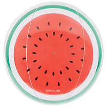 Buy Sunnylife Inflatable Watermelon Ball Online at johnlewis.com