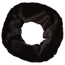 Buy Phase Eight Ola Faux Fur Snood, Black Online at johnlewis.com