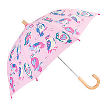 Buy Hatley Children's Happy Owls Umbrella, Pink Online at johnlewis.com
