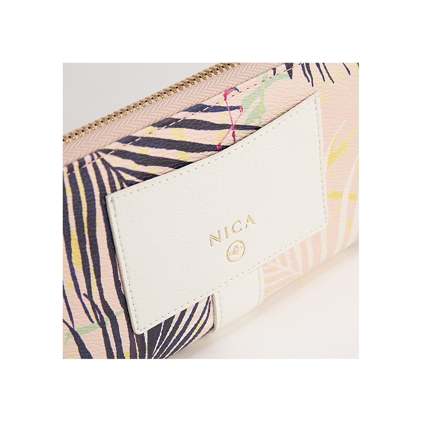 designer handbags chloe - Buy Nica Chloe Palm Print Large Zip Around Purse, Multi | John Lewis