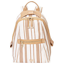 Buy Nica Matilda Backpack, Tan Stripe Online at johnlewis.com