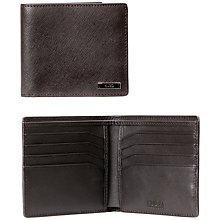 Buy HUGO by Hugo Boss Digital_8 cc Soft Leather Wallet Online at johnlewis.com
