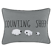 Buy John Lewis Counting Sheep Cushion Online at johnlewis.com