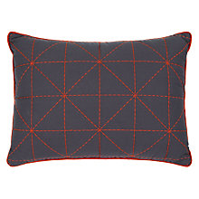 Buy House by John Lewis Contrast Stitch Cushion Online at johnlewis.com