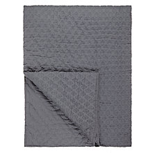 Buy John Lewis Croft Collection Dots Quilted Throw Online at johnlewis.com
