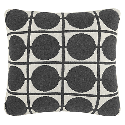 Image of House by John Lewis Circles Cotton Knitted Cushion