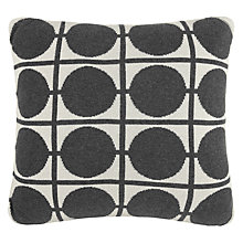 Buy House by John Lewis Circles Cotton Knitted Cushion Online at johnlewis.com