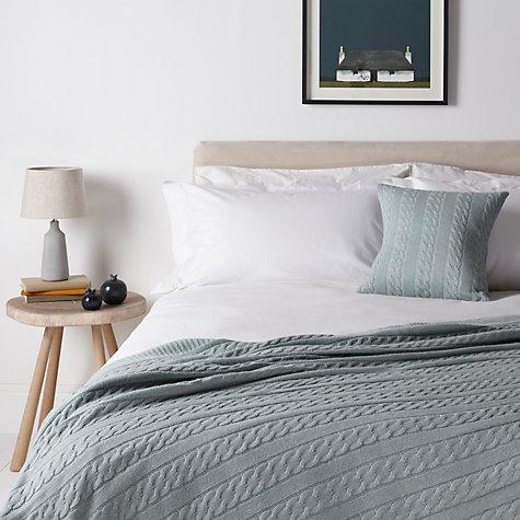 buy john lewis croft collection cashmere blend cable knit. Black Bedroom Furniture Sets. Home Design Ideas