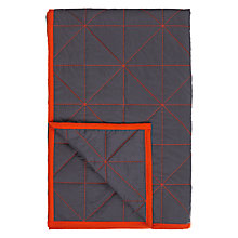Buy House by John Lewis Contrast Stitch Throw Online at johnlewis.com