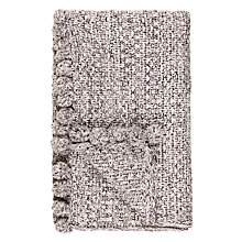 Buy John Lewis Fusion Pom Pom Throw Online at johnlewis.com