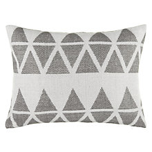 Buy John Lewis Triangles Cushion Online at johnlewis.com