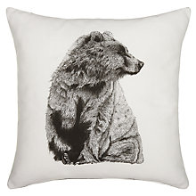 Buy Ben Rothery Bear Cushion Online at johnlewis.com