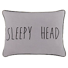 Buy John Lewis Sleepy Head Cushion Online at johnlewis.com