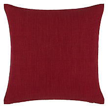 Buy John Lewis Plain Slubby Cotton Cushion Online at johnlewis.com