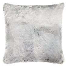 Buy John Lewis Soft Faux Fur Floor Cushion Online at johnlewis.com
