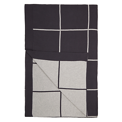 House by John Lewis Grid Throw