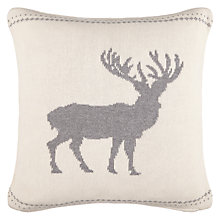 Buy John Lewis Reindeer Cushion Online at johnlewis.com