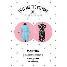 Buy Tilly and the Buttons Martha Sewing Pattern Online at johnlewis.com