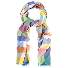 Buy White Stuff Poppy Woven Spot Scarf, Multi Online at johnlewis.com