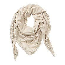 Buy Betty & Co. Plain Shawl Scarf, Sandshell Online at johnlewis.com