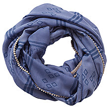 Buy Betty & Co. Printed Snood, Crown Blue Online at johnlewis.com