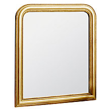 Buy John Lewis Beaded Overmantle Mirror, 120 x 94cm Online at johnlewis.com