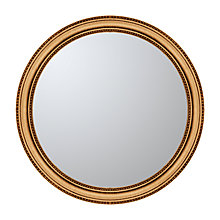 Buy John Lewis Beaded Round Mirror, Dia.76cm Online at johnlewis.com