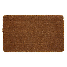 Buy John Lewis Thick Plaited Coir Door Mat Online at johnlewis.com