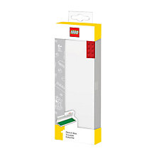 Buy LEGO Hard Pencil Case, Red Online at johnlewis.com