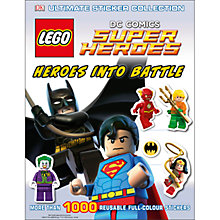 Buy LEGO DC Comics Super Heroes Ultimate Sticker Collection Online at johnlewis.com