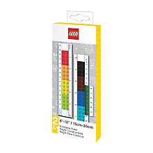 Buy LEGO Buildable Ruler Online at johnlewis.com