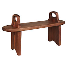 Buy John Lewis Tuscan Antipasti Table Riser, Walnut Online at johnlewis.com