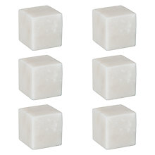 Buy John Lewis Croft Collection Arundel Marble Wine Stone Chillers, Set of 6 Online at johnlewis.com