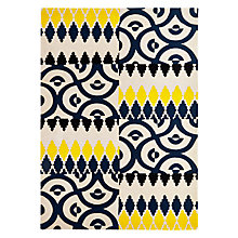 Buy Suki Cheema Agra Rug, Multi Online at johnlewis.com