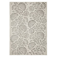 Buy Genevieve Bennett for John Lewis Persian Thistle Rug, Silver Online at johnlewis.com
