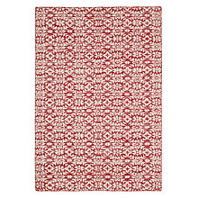 Buy John Lewis Chamonix Rug, Red Online at johnlewis.com