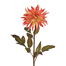 Buy Floralsilk Dahlia Spray, Red / Green Online at johnlewis.com