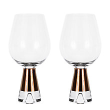 Buy Tom Dixon TANK Wine Glasses, Set of 2 Online at johnlewis.com
