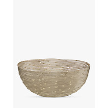 Buy John Lewis Aurora Bowl, Gold Online at johnlewis.com