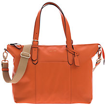 Buy Jem + Bea Beatrice Tote Changing Bag, Orange Online at johnlewis.com