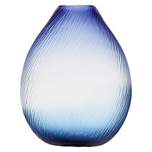 Buy Voyage Elemental Atargatis Cut Shell Vase, Blue Online at johnlewis.com