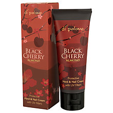 Buy Di Palomo Black & Cherry Almond Hand & Nail Cream, 75ml Online at johnlewis.com