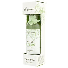 Buy Di Palomo White Grape Body Mist, 100ml Online at johnlewis.com