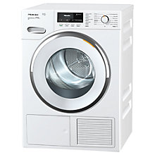 Buy Miele TMR 840 Freestanding Heat Pump Tumble Dryer, 9kg Load, A+++ Energy Rating, White Online at johnlewis.com
