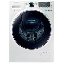 Buy Samsung AddWash WW90K7615OW Washing Machine, 9kg Load, A+++ Energy Rating, 1600rpm Spin, White Online at johnlewis.com